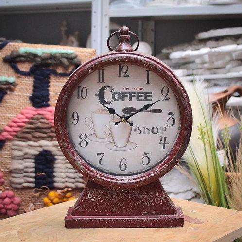 Relógio vintage coffee