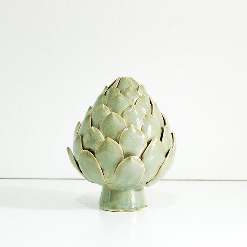 Pinha de cerâmica