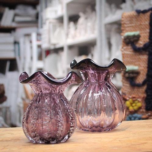 Dupla de vasos Murano