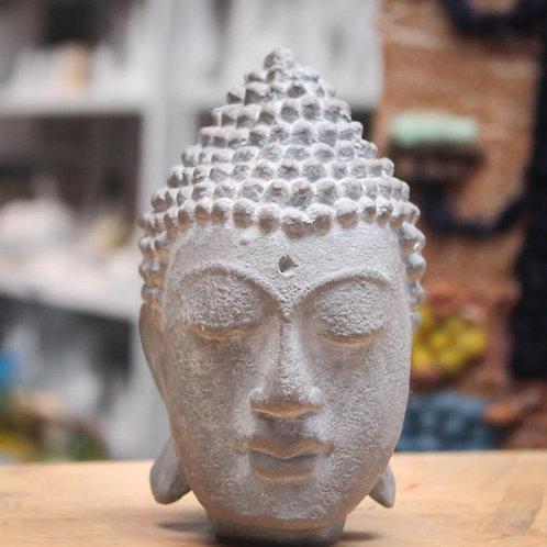 Cabeça de Buda Resina