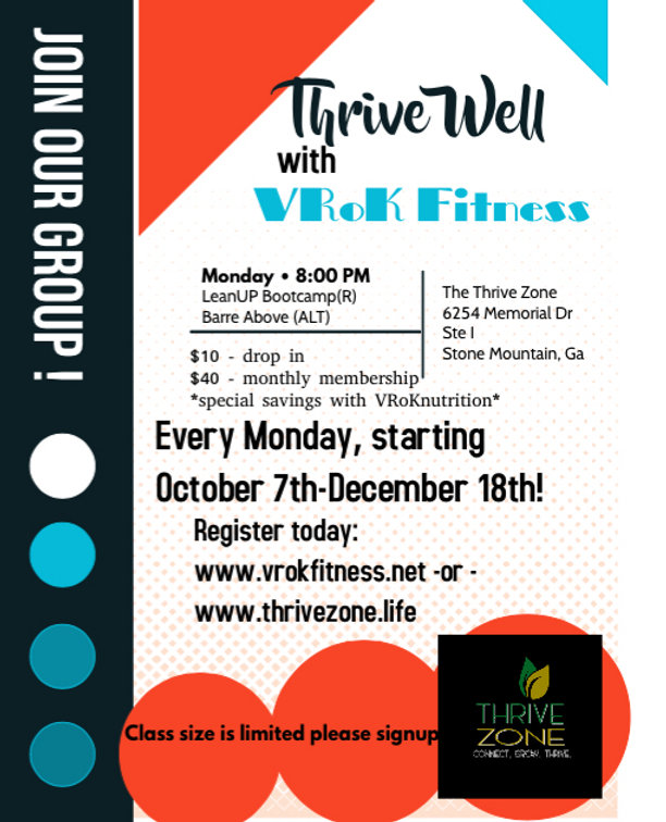 THRIVE Well with VRok Fitness