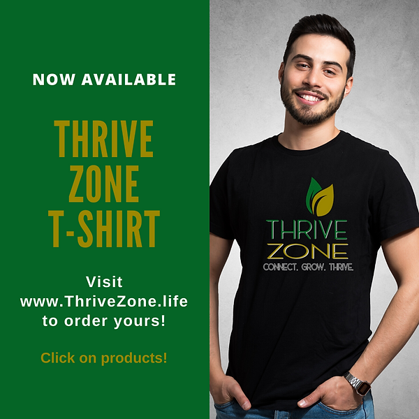 THRIVE Zone Tshirt (Black)