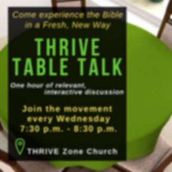 THRIVE Table Talk Wednesdays _ 7_30 p.m_