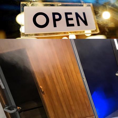 Sauna & Steam Rooms Open again! 02/12
