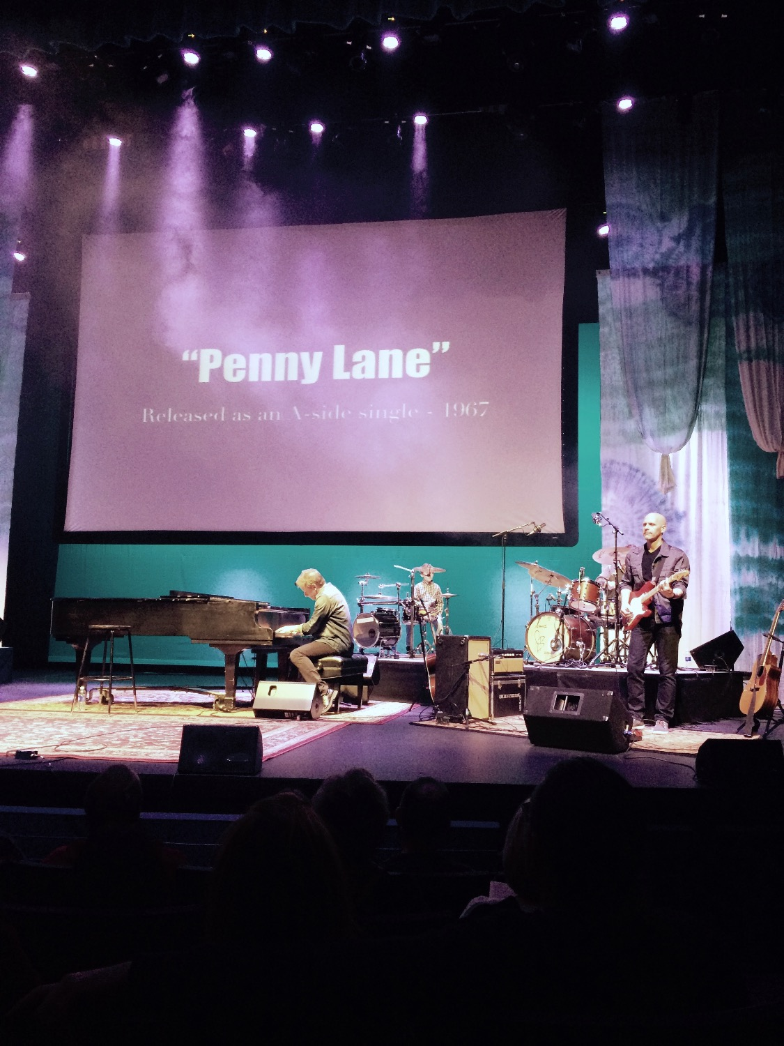 """Penny Lane is in my ears..."""