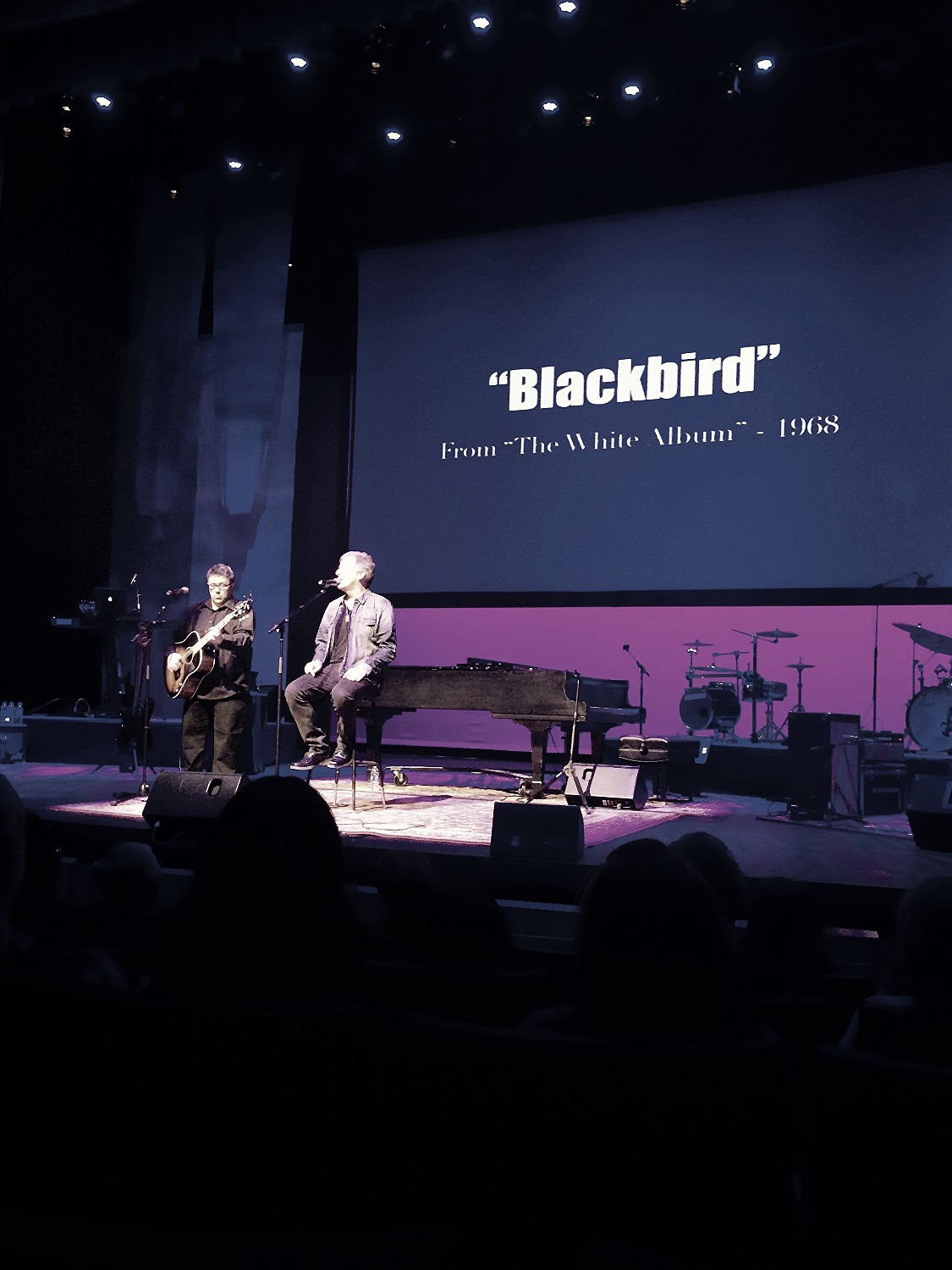 """Blackbird fly..."""