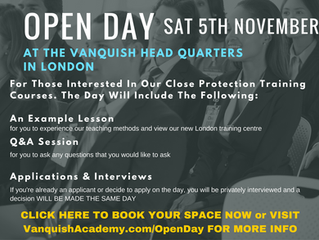 Close Protection Training Open Day