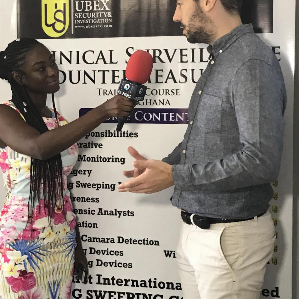 Ghanian TV Interview
