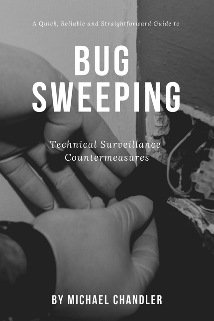 Online Bug Sweeping (TSCM) Course & Book