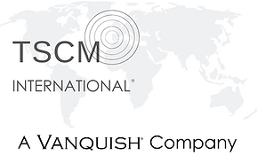TSCM International Logo with Vanquish TM