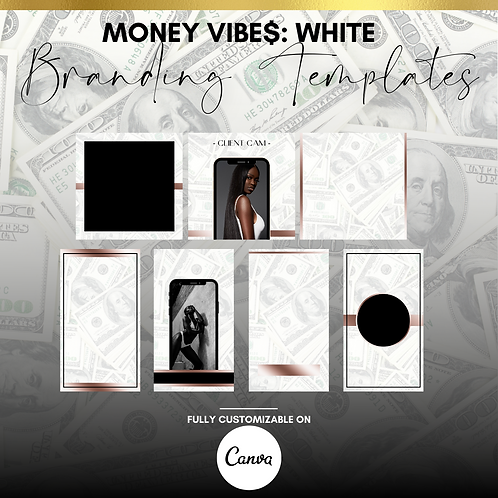MONEY VIBE$: WHITE (BRANDING TEMPLATES)