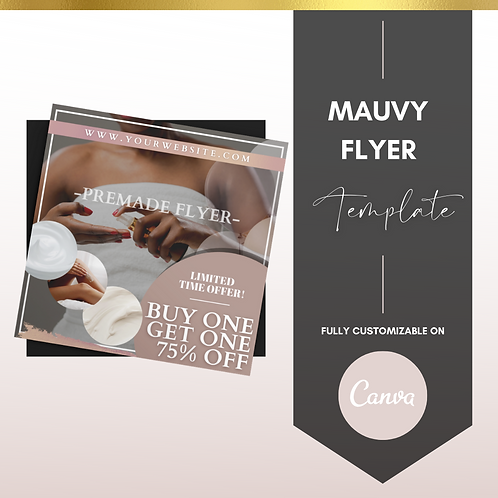 MAUVEY FLYER TEMPLATE