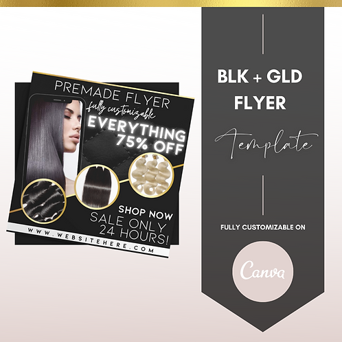 BLK + GLD FLYER TEMPLATE