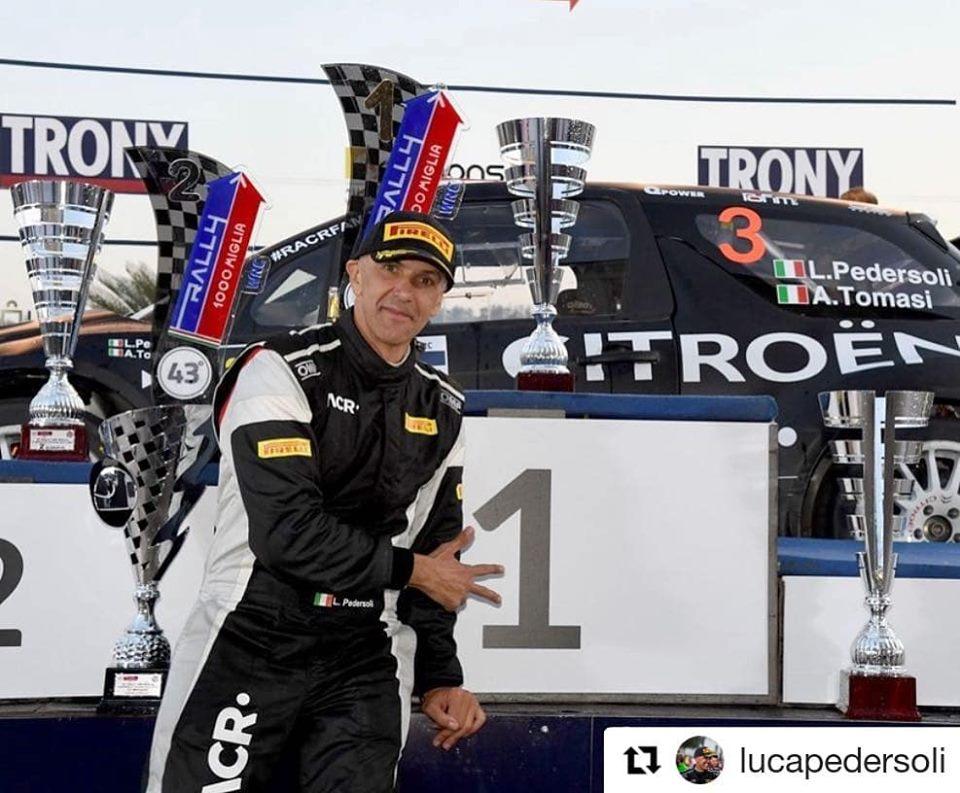 luca pedrosi-Rally 1000 Miglia 2019