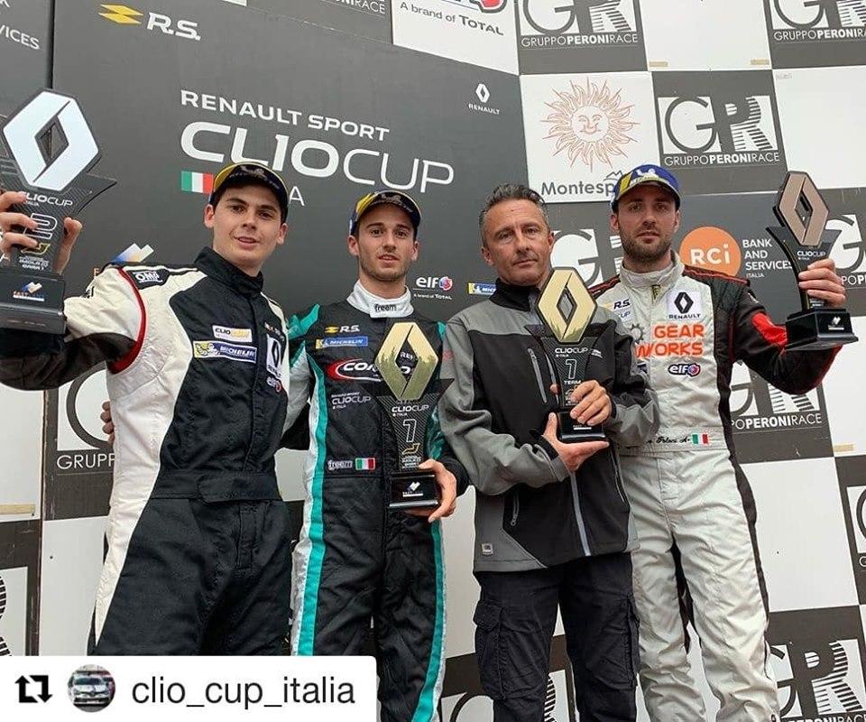 Clio Cup Italia 19