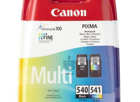 Pack cartouches CANON PG-540/CL-541