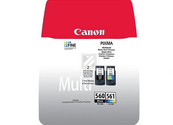 Pack Cartouches CANON PG-560/CL561