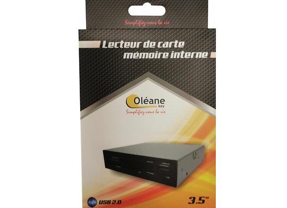 """Lecteur de carte mémoire interne 3.5"""" USB2.0"""