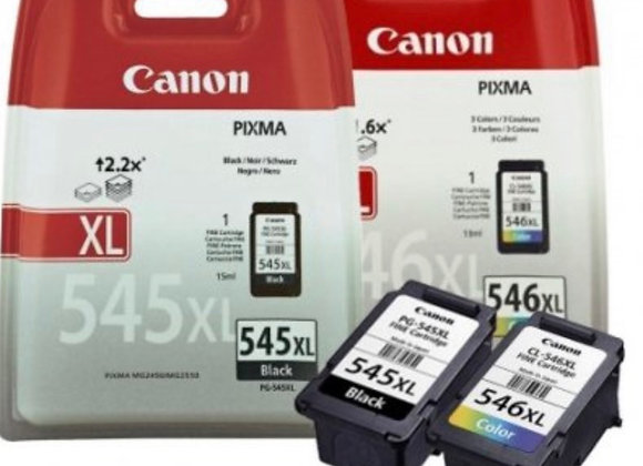 Pack cartouches CANON PG-545XL/CL-546XL