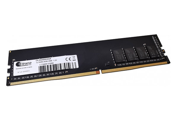 8GB DDR4 2666 MHz / CL19 1.2V (PC4-21300)