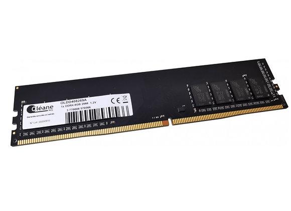 8GB DDR4 2666 MHz / CL19 1.2V (PC4-21300)
