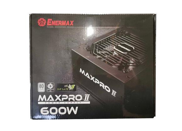 Alimentation MAXPRO II 600W ATX 12V V2.3 80+