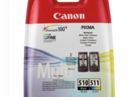 Pack cartouches CANON PG-510/CL-511