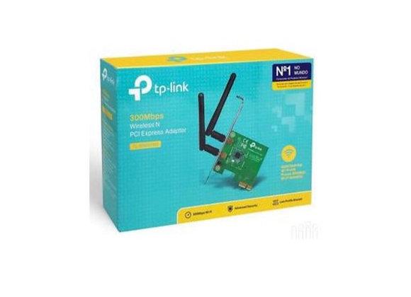 Carte Réseaux PCI Express WiFi N 300Mbps Avec équerre low profile