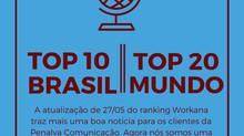 Workana divulga novo ranking