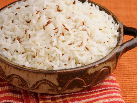 Mejadara - Middle Eastern Rice and Lentils