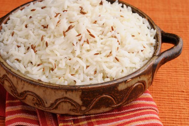 White cumin rice