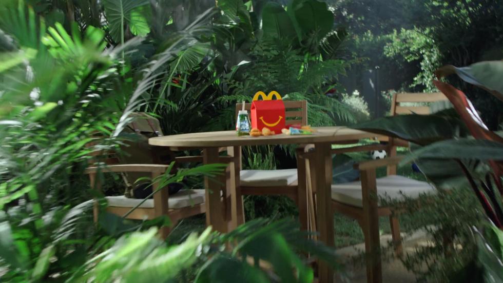 McDonalds Jurassic Park