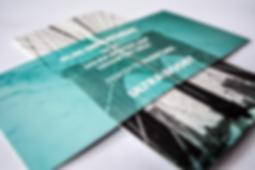 Flyer, Klappflyer, Unendlichkeisflyer, Eberl Print, Ultraboost, Design