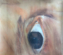 Zeichnung, Kreide, Auge, Mensch, Malen