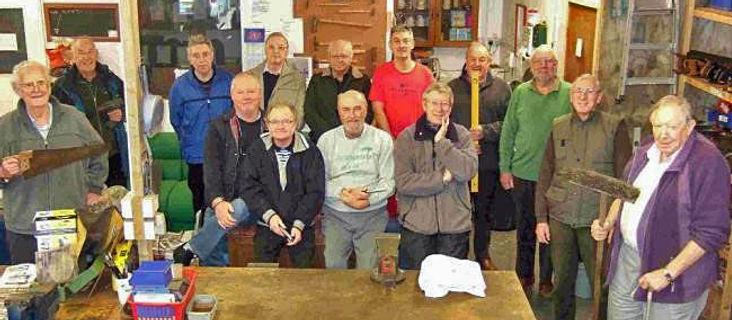 The volunteer team at Tool Aid Ringwood