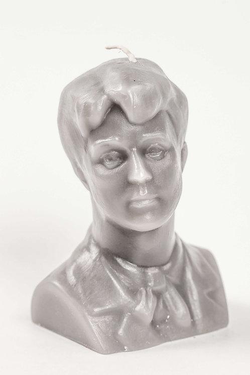 Кабинетная скульптура-свеча С.А.Есенин