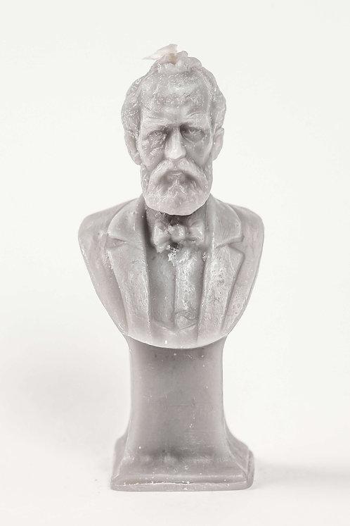 Кабинетная скульптура-свеча П.И.Чайковский