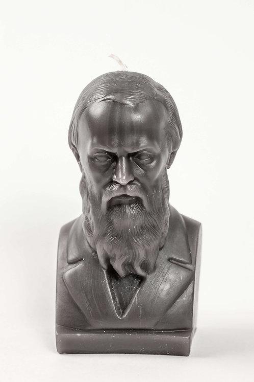 Кабинетная скульптура-свеча Ф.М.Достоевский