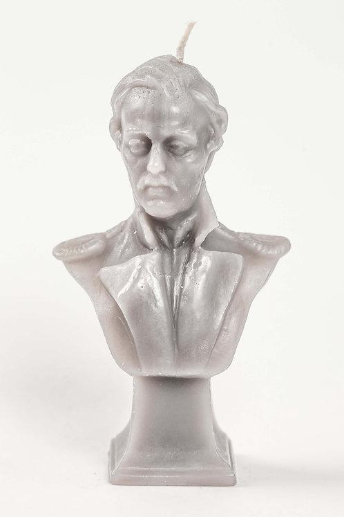 Кабинетная скульптура-свеча М.Ю.Лермонтов
