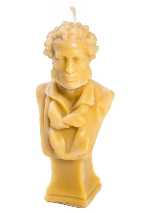 Кабинетная скульптура-свеча А.С.Пушкин