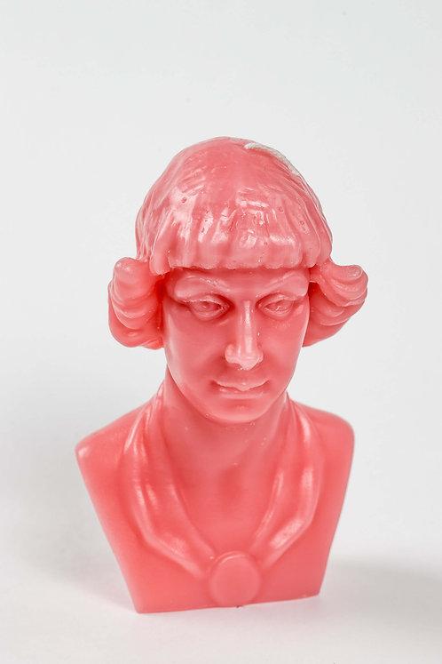 Кабинетная скульптура-свеча М.Цветаева