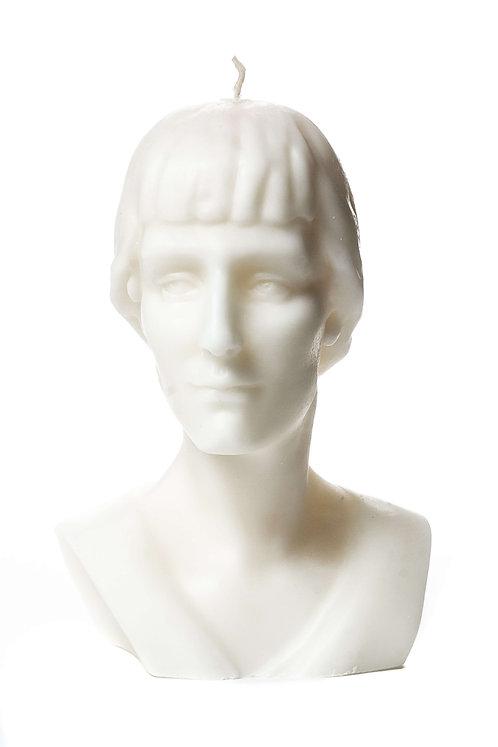 Кабинетная скульптура-свеча А.А.Ахматова