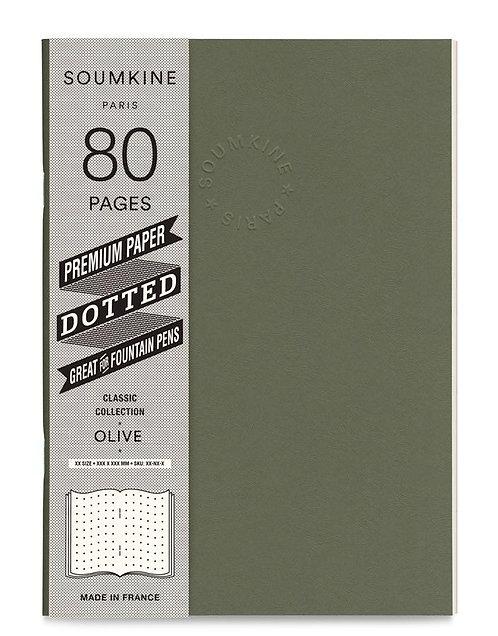 Блокнот SUMKINE premium, OLIVE