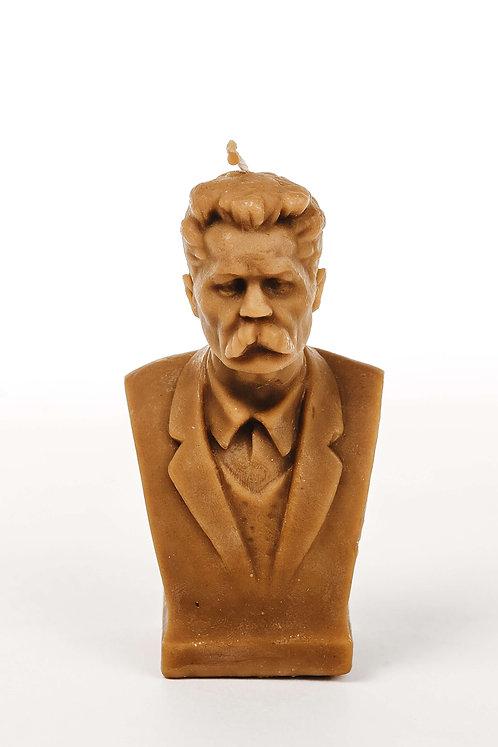 Кабинетная скульптура-свеча М.Горький