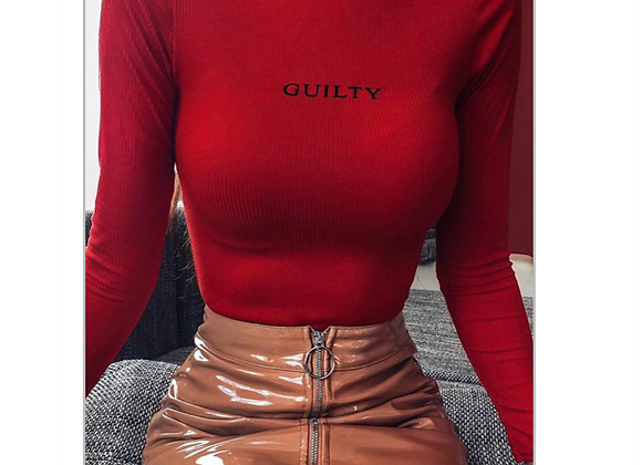 I'm Guilty shirt