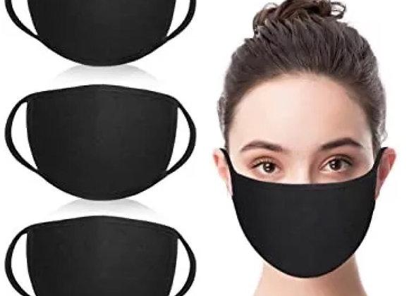 Black Face Mask w/filter