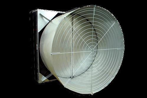 Высокомощный вентилятор с конусом и лопастями из нержавеющей стали