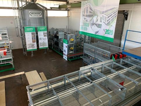 ХОЛДИНГ АГРО на базе Hellmann Poultry Equipment