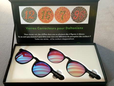 Unique à Strasbourg : des lunettes pour Daltoniens afin de voir le monde en couleurs !