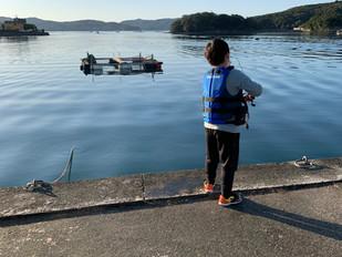 初の釣りに挑戦